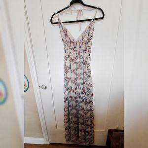 Lolly Los Angeles maxi dress Aztec Boho Small